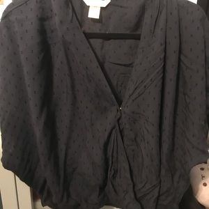 NWOT Faux wrap front top from H&M